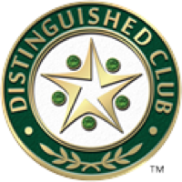 Distinguished Club Emblem